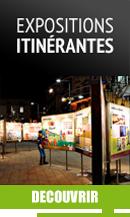 Expositions itinérantes