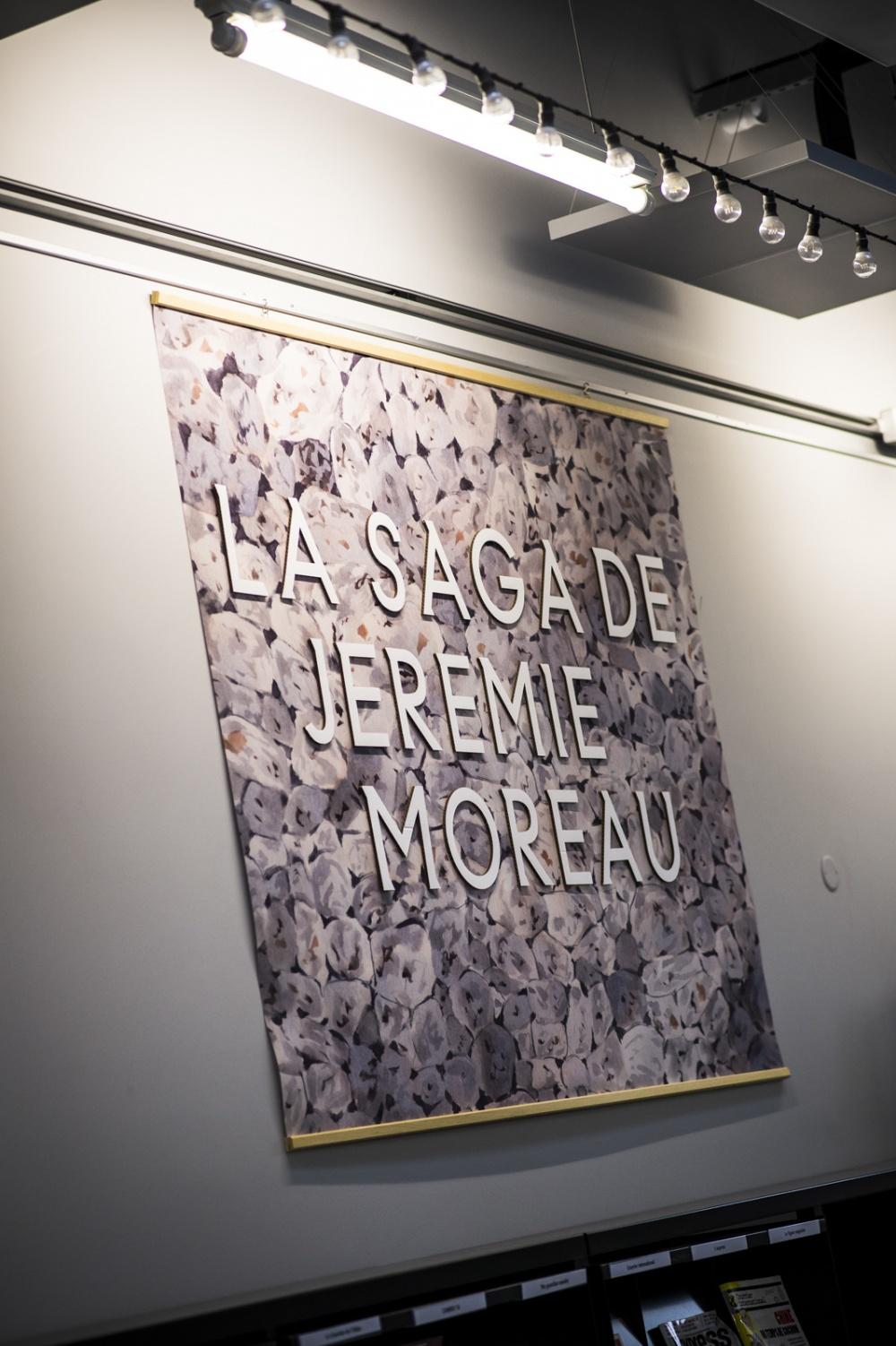 Exposition Jérémie Moreau, L'Alpha Médiathèque.