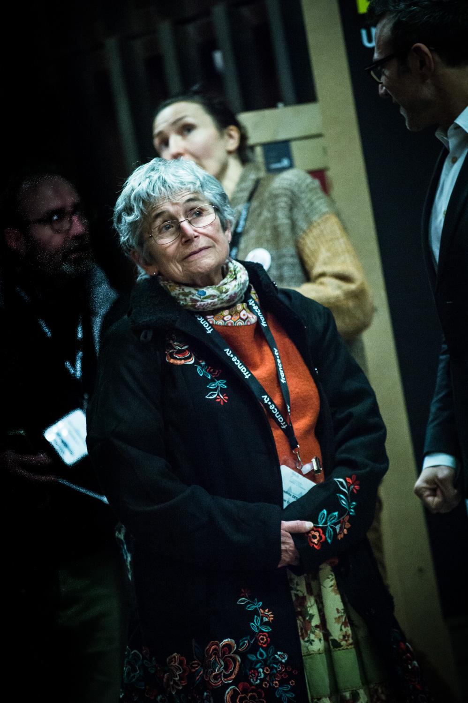 Cérémonie d'ouverture du FIBD 2019, l'Alpha. Bernadette Després.