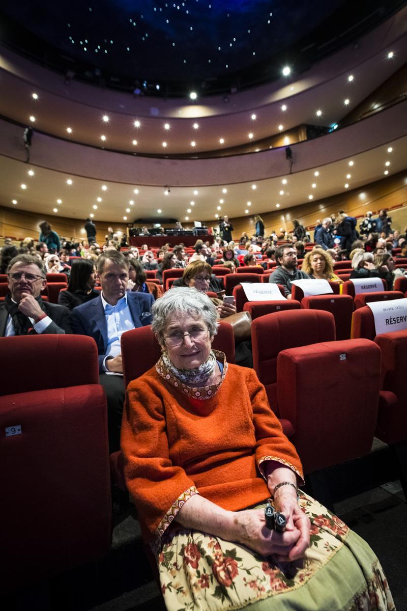 Cérémonie de remise des Prix Découvertes, Théâtre d'Angoulême. Bernadette Després.