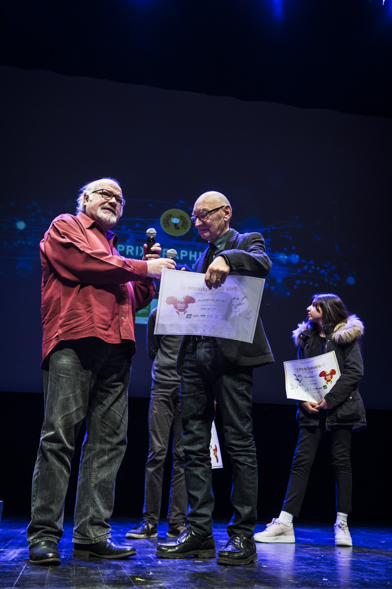 Cérémonie de remise des Prix Découvertes, Théâtre d'Angoulême.