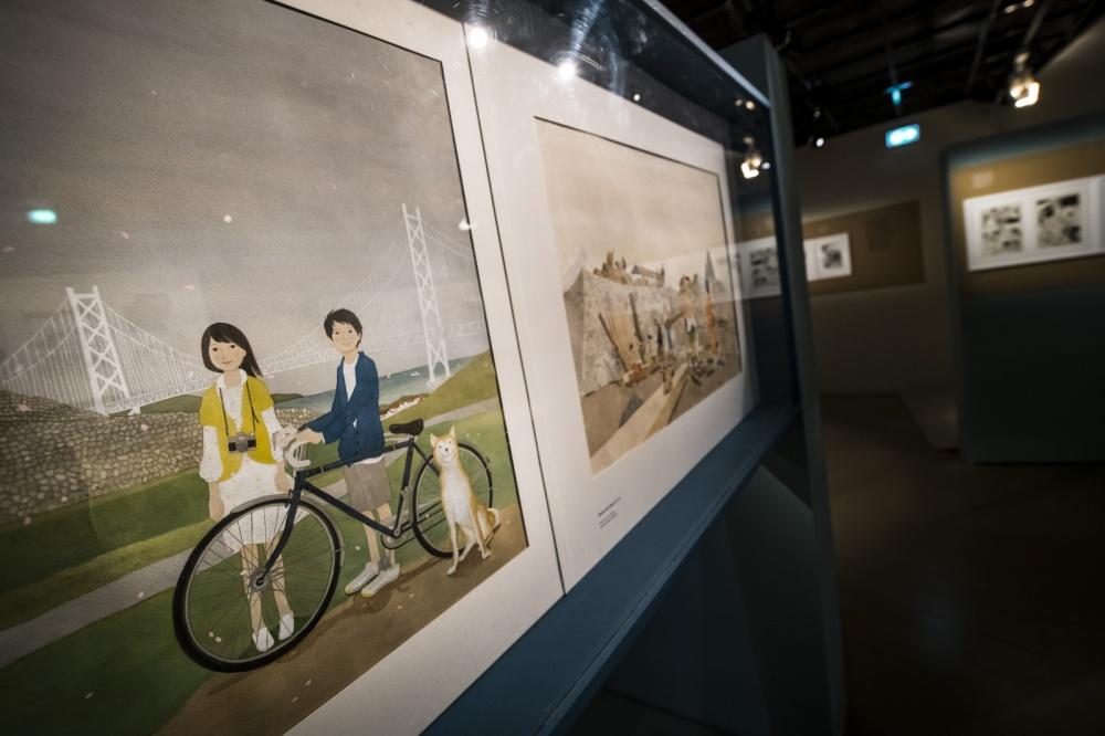 Exposition Taiyo Matsumoto, Musée d'Angoulême.