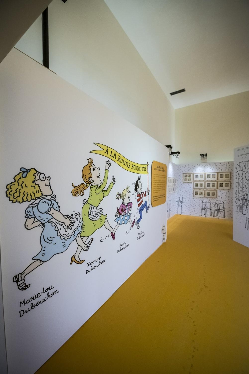 Exposition Bernadette Després, Quartier Jeunesse.