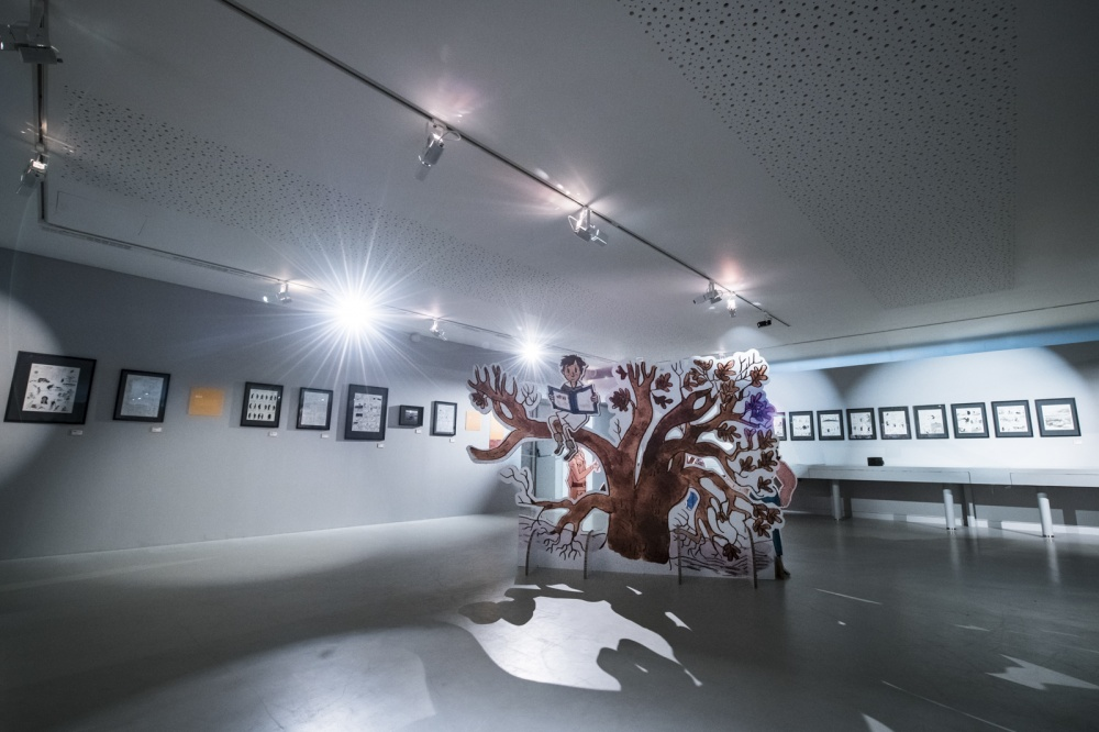 Exposition Jean Harambat, Musée de la Bande Dessinée.