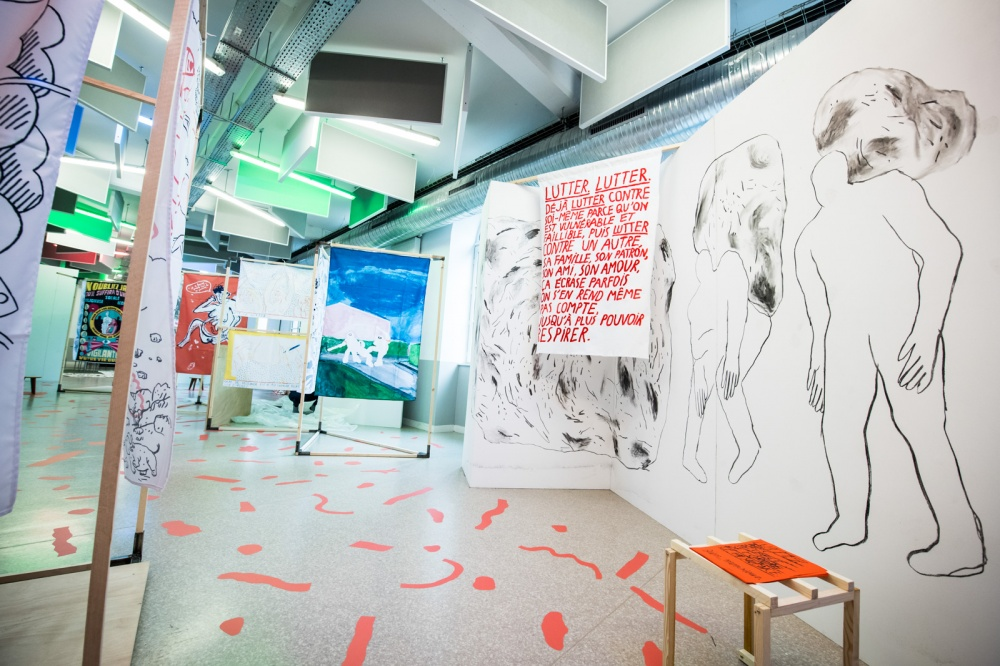 Exposition Bien , Monsieur, Pavillon Jeunes Talents.