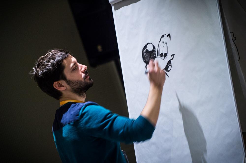 Atelier Jeunesse. Apprendre à dessiner Boule et Bill. Auditorium du Musée de la BD.