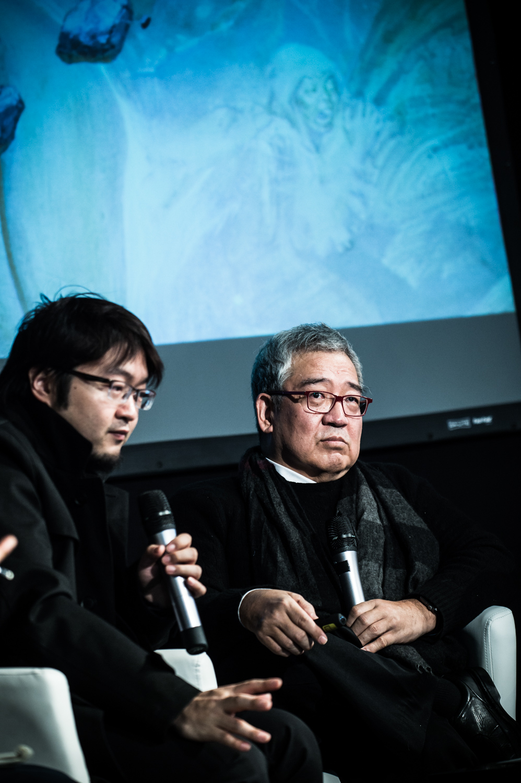 Rencontre Internationale autour de Chiisakobe, Le Lézard Noir, avec Minetaro Mochizuki.