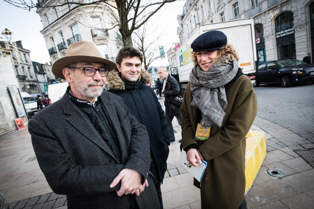Dans les Bulles, dans les rues d'Angoulême.
