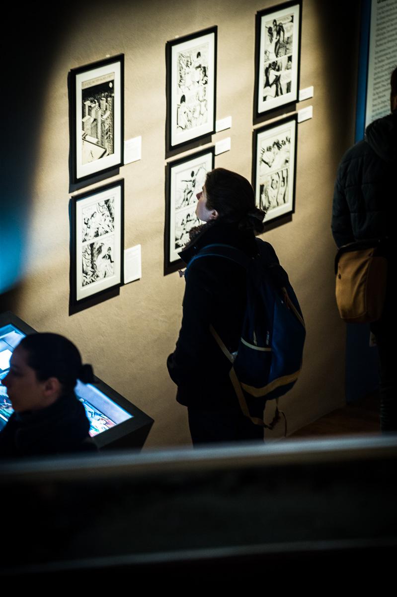Exposition Manara, Espace Franquin.