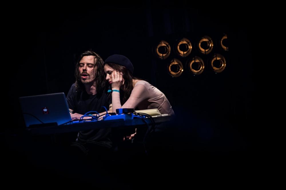 Concert Dessiné avec Chassol, Brecht Evens et Céline Devaux, Théâtre d'Angoulême.