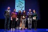 Cérémonie de Remise des Fauves. Théâtre d'Angoulême. Les Fauves BD Alternative sur scène.