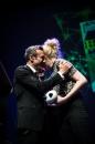 Cérémonie de Remise des Fauves, Théâtre d'Angoulême. Stéphane Beaujean et Emilie Gleason, Fauve Révélation pour 'Ted, drôle de coco'.