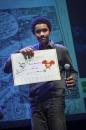 Cérémonie de remise des Prix Découvertes. Thomas Ouedraogo