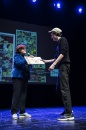 Cérémonie de remise des Prix Découvertes. Prix Jeunes talents Région, Robin Pouch. Théâtre d'Angoulême.