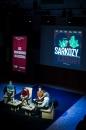 Rencontre Sarkozy-Khadafi, Des Billets et des Bombes. Quand la bande dessinée révèle un scandale d'état. Avec Thierry Chavant, Benoit Collombat et Geoffroy Le Guicher.  Conservatoire.