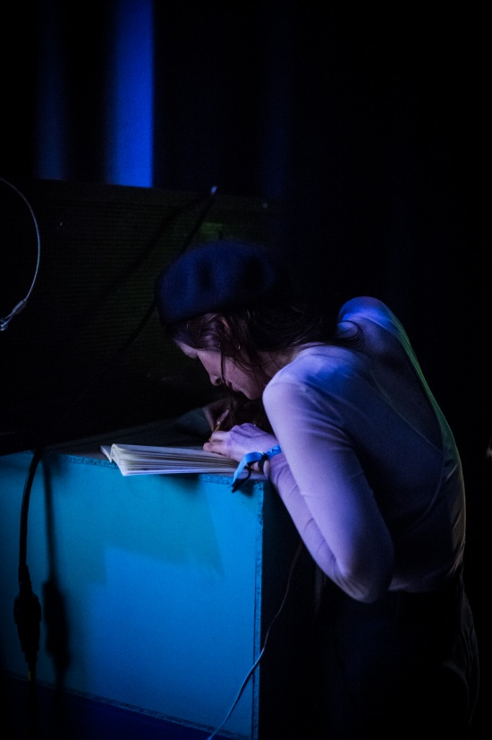 Galerie 2019 : Concert Dessiné avec Chassol, Brecht Evens et Céline Devaux
